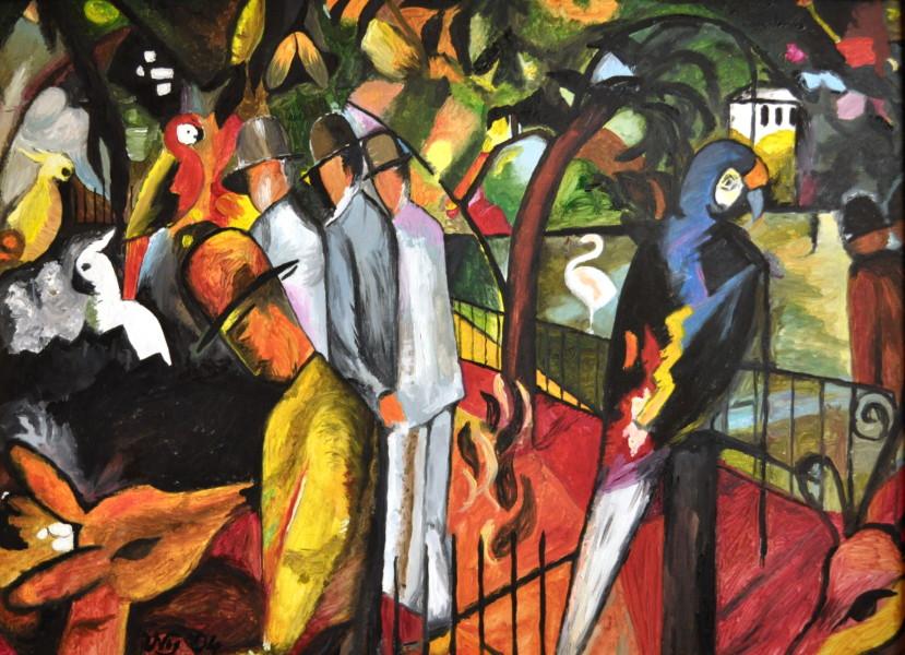 Zoologischer Garten, Gemälde